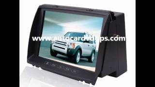 Land Rover Discovery 3 In-Dash Car DVD Player GPS Radio www.autocardvdgps.com