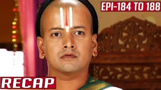 Ramanujar Recap | Episode 184 to 188 | Kalaignar TV
