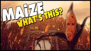 getlinkyoutube.com-THE CORN IS ALIVE! - Maize - What Is This!? [Let's Play Maize Gameplay] Sponsored