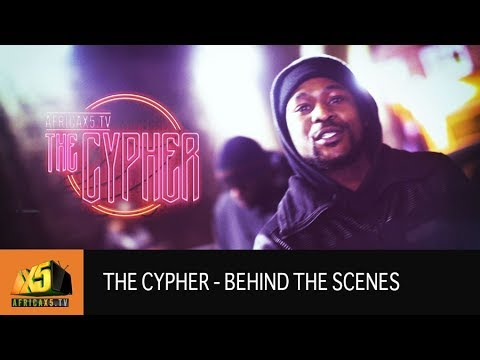AFRICAX5 CYPHER {Behind the scene}
