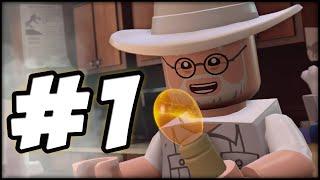 getlinkyoutube.com-LEGO Jurassic World - PART 1 - PROLOGUE! (Gameplay Walkthrough HD)