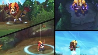 getlinkyoutube.com-El Macho Mundo, El Leon Gnar, El Rayo Volibear New Skins Spotlight - League of Legends