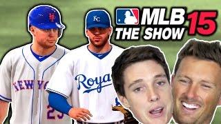 getlinkyoutube.com-Predicting The World Series W/ My BROTHER! | MLB 15 THE SHOW GAMEPLAY ( World Series )