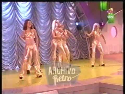 Evangelina Anderson bailarina de Pasión de Sábado (2002)