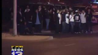 getlinkyoutube.com-Gang tension shuts down funeral service