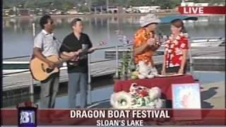 getlinkyoutube.com-Colorado Dragon Boat Festival - Fox31 News Dan Daru Live on Sloans Lake