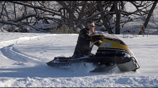 getlinkyoutube.com-The Flickiest Snowmobile ever!! Ricky Bobby Louie rides!!