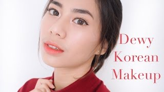 getlinkyoutube.com-Dewy Look (Korean Makeup) Tutorial - Abel Cantika