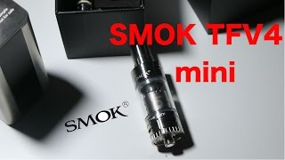 getlinkyoutube.com-Smok TFV4 mini | Recensione
