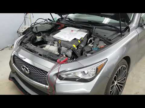 INFINITI Q50, NISSAN HEADLIGHT SYSTEM ERROR FIX, HACK, BYPASS, STEP BY STEP.