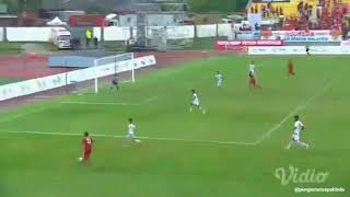 Cuplikan GOL INDONESIA VS MYANMAR SEA GAMES 2017