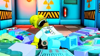 LEGO Dimensions Help Homer Save The Springfield Power Plant!
