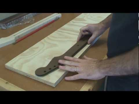 Stratocaster Guitar Build -  Part 1 - Building A Stratocaster Guitar Neck