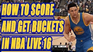 NBA LIVE 16 HOW TO SCORE EASY AND BE AN ELITE PLAYER TIPS