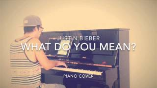 Justin Bieber - What Do You Mean? (Piano Cover + Sheets)