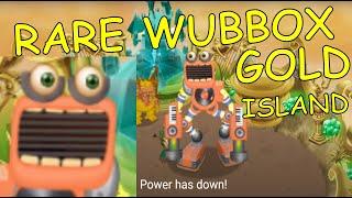 getlinkyoutube.com-Power Up Wubbox in Gold Island - My Singing Monsters