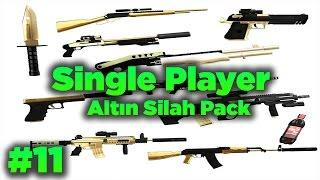 getlinkyoutube.com-Gta San Andreas #11 - Altın Silah Modu | Gold Weapon Pack | Tanıtım |
