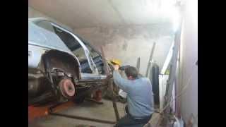 getlinkyoutube.com-Подъёмник в гараж
