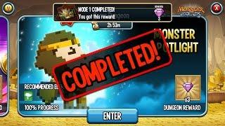 getlinkyoutube.com-Monster Legends - Gems Dungeon Monster Pixelion How To Defeat?
