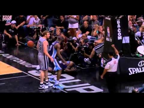 Tony Allen Flops Again In The Playoffs - Game 2 WCF 2013
