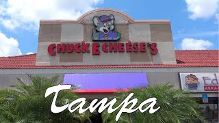 getlinkyoutube.com-Chuck E. Cheese's Tampa Carrolwood Store Tour