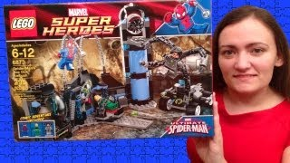 getlinkyoutube.com-LEGO Marvel Super Heroes 6873 Spider Man's Doc Ock Ambush LEGO Review