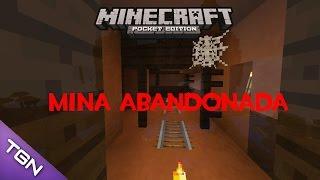getlinkyoutube.com-Seed De Mina Abandonada Para Minecraft PE 0.16.0