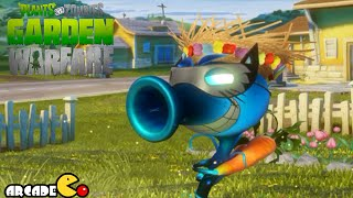 getlinkyoutube.com-Plants Vs. Zombies Garden Warfare: Ineffective Unbeatable Pea Shooter (1080p 60fps) Gameplay