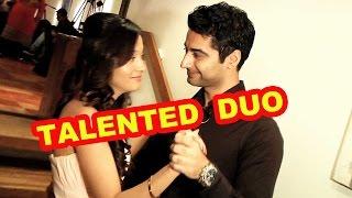 getlinkyoutube.com-Harshad Arora and Preetika Rao's hidden talents