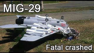 getlinkyoutube.com-Banana Hobby Mig-29 - The Last Flight - Tragic Crash
