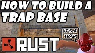 getlinkyoutube.com-Rust Tutorial - How to Build a TRAP BASE! (Reverse Raiding!) Tips & Tricks