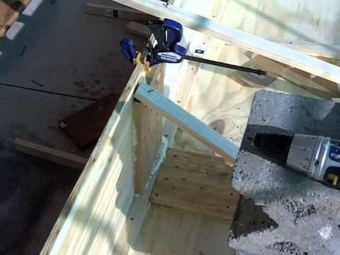 Building a wooden Jet Jon Boat Part 1