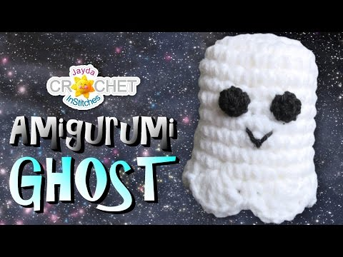 Crochet Ghost Toy - Amigurumi Plushy Pattern