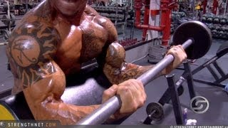 getlinkyoutube.com-Jason Borrego Doing Preacher Curls for Big Biceps