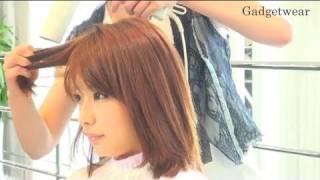 getlinkyoutube.com-【Hair Arrange】髪の毛がツヤツヤ&サラサラになるブローの仕方 - 第10回