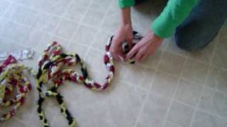 getlinkyoutube.com-Braided Rag Rug Instructions
