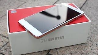 getlinkyoutube.com-Uhans S1 неожиданно качественный и стильный смартфон.
