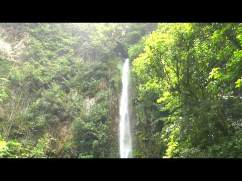 CARIBBEAN Meditation Scene - Victoria Waterfalls - DOMINICA - No Music