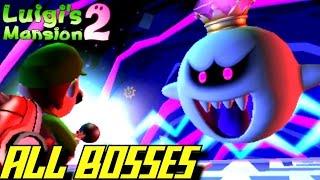 getlinkyoutube.com-Luigi's Mansion 2: Dark Moon - ALL Bosses (No Damage/3 Stars Ranking)