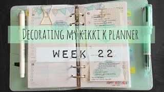 getlinkyoutube.com-Decorating My Kikki k Planner (Week 22)