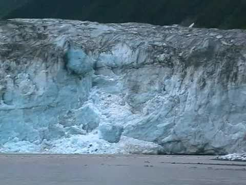 Childs Glacier Calving , Alaska   
