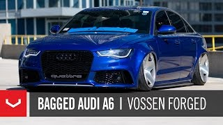 getlinkyoutube.com-Audi A6 Widebody | Import Evolution | Vossen Forged VPS-318