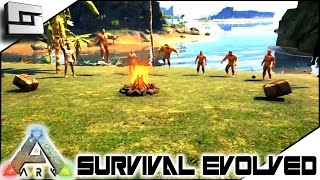 getlinkyoutube.com-ARK: Survival Evolved - THE CENTER! SEASON 4! NEW PEEPS! S4E1 ( Gameplay )