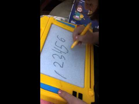 Practicing/writing numbers... (duke praktikuar numrat)