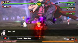 getlinkyoutube.com-Naruto Shippuden: Kizuna Drive - PSP - Final Chapter: The Power Of Bonds! [1/2]