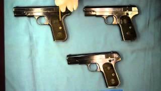 getlinkyoutube.com-Colt's 1903 Pocket Hammerless Type I, II, and III variations