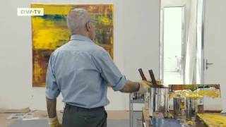 """getlinkyoutube.com-""""Gerhard Richter Painting""""   Video des Tages"""