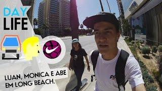 getlinkyoutube.com-Day in the life - Luan Oliveira, Monica Torres e Abe em LA