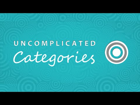 Categories Uncomplicated for Shopify, how to set up categories from scratch