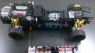 LEGO Technic VW Phaeton 6.0 W12 scale 1:7 (Part I)
